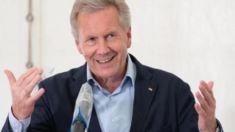 Soll die Findungskommission auf der Suche nach einem neuen DOSB-Präsidenten leiten: Christian Wulff, ehemaliger Bundespräsident.