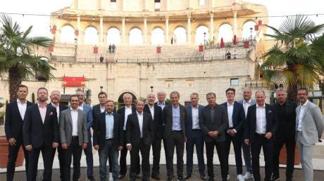 Im Europa Park trafen sich mehrere Europameister von 1996.