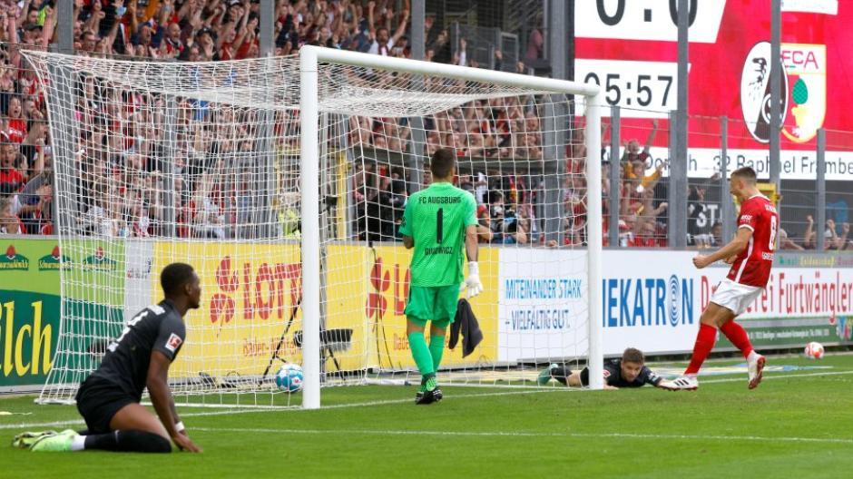 Blamage im Breisgau Der FC Augsburg verlor mit 0:3 gegen den SC Freiburg.