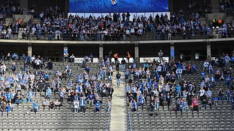 Wie bei Hertha BSC können die Kontingente zugelassener Zuschauer in den Stadien der Bundesliga meist nicht voll genutzt werden.