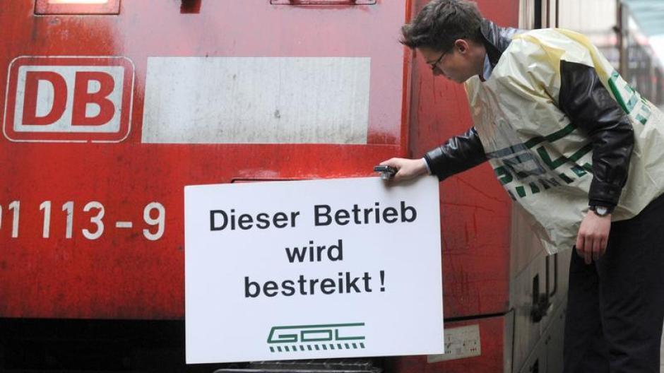 Lokfuhrer Streik Gdl Kundigt Massiven Streik An Augsburger Allgemeine