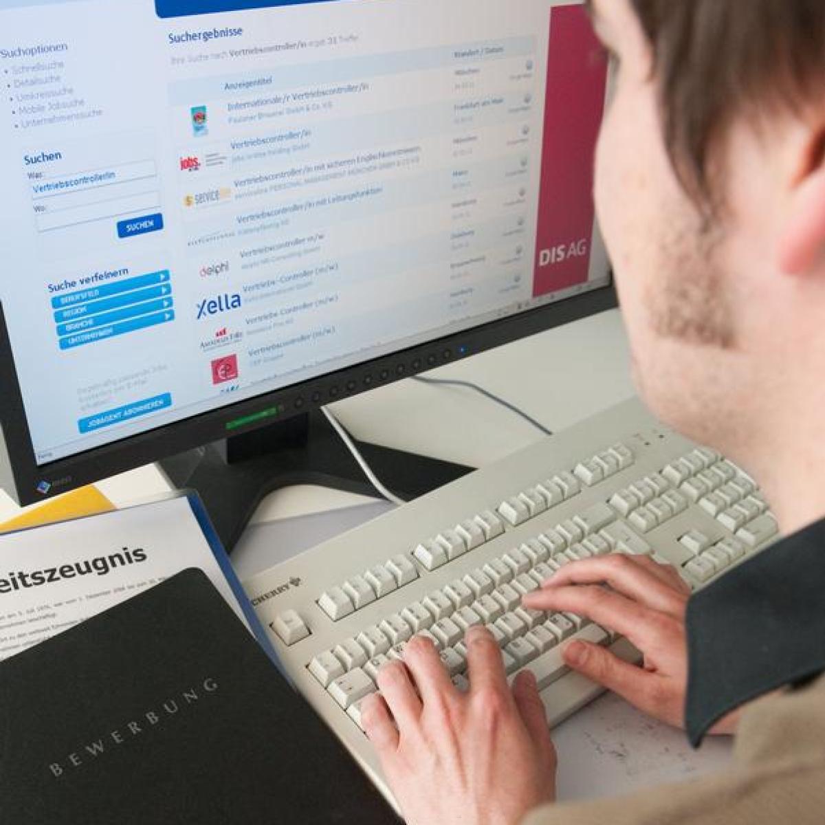 Internet: Job aus dem Netz: Suche mit Online-Stellenbörsen - Themenwelten -  Augsburger Allgemeine