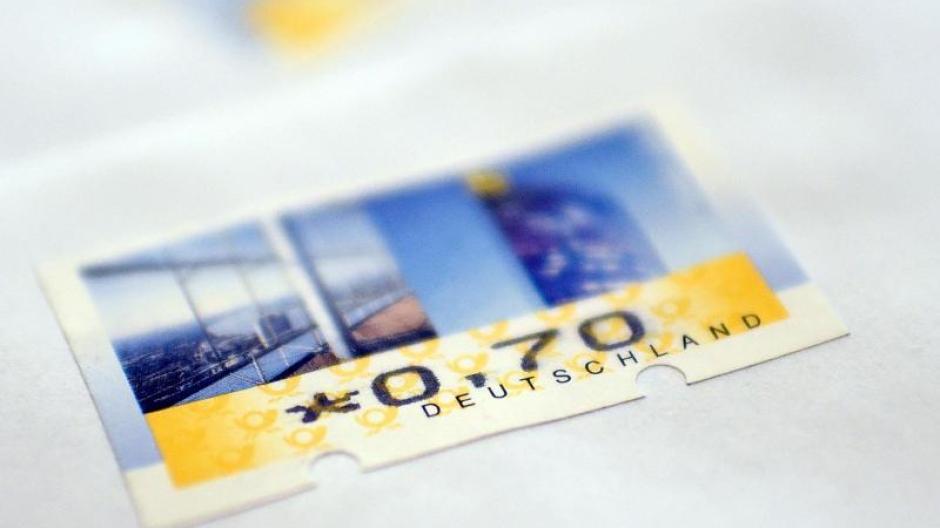 Deutsche Post 70 Statt 62 Cent Für Einen Brief Post Erhöht Preise