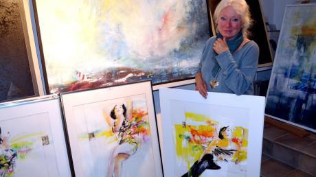 Mica Knorr-Borocco erhält den Kunstpreis 2019 vom Landkreis Landsberg