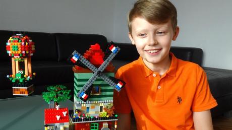Eine niederländische Perspektive hat dieser Teilnehmer des   Wettbewerbs gewählt. Legoland weist darauf hin, dass dies nur ein Beispiel sei und nicht gleichzusetzen mit einem Favoriten.