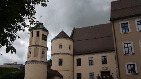 Auch im Wertinger Schloss wird heuer umgebaut.