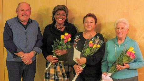 Ehrungen des VdK erhielten von links: Walter Wohner, Renate Guggemos, Karin Heidemeier und Maria Grade.