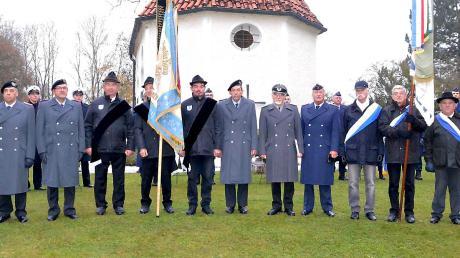Die Reservistenkameradschaft Landsberg gibt die Organisation der Gedenkfeier in Schwabstadl an den Veteranen- und Soldatenverein Kaufering ab.