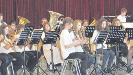 Bei den Wertungsspielen erfolgreich war die Jugendkapelle des Musikvereins Zusamaltheim.