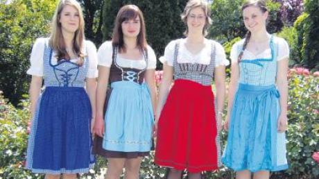 Die Festdamen der Villenbacher Eintracht–Schützen laden zum Doppelfest mit dem Soldatenverein Mitte Juli ein.