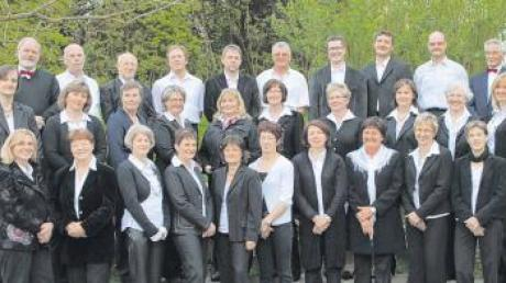 Der Kirchenchor Zusamaltheim singt bei der Eröffnungsfeier der Dillinger Kulturtage am 24. September in der Mehrzweckhalle in Zusamaltheim.