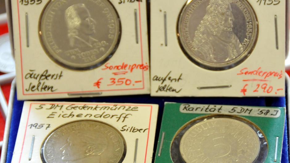 München Sammler Vergisst Münzen Im Wert Von 30000 Euro Im Zug