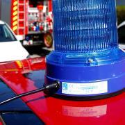 Die Feuerwehr hat zusammen mit einem Hausbesitzer und einem Nachbarn den Brand auf einer Terrasse in Ziertheim gelöscht.