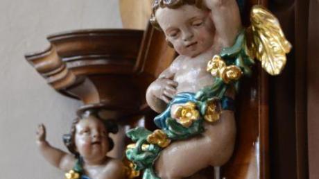 Begehrt sind die kleinen Engelchen. Immer wieder wurden einige gestohlen.