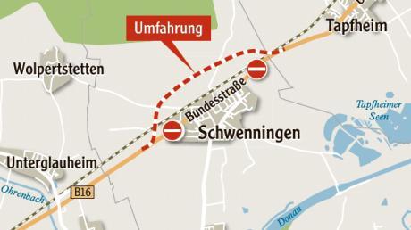 Schwenninger fürchten, dass es mit der neuen Strecke in Teilen des Ortes viel lauter wird.