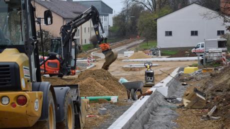 In den vergangenen Monaten war in Zusamaltheim in Sachen Bauarbeiten viel los. Jetzt kann die Dorferneuerung in die nächste Phase gehen. Der Gemeinderat genehmigte die Objektplanung.