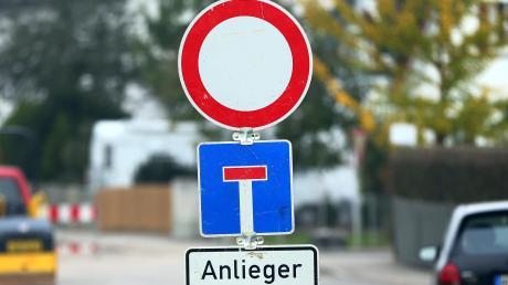 In Zusamaltheim wird die Ortsdfurchfahrt gesperrt.