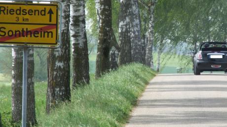 Einige Maßnahmen hat Zusamaltheims Gemeinderat nochmals verschoben, wie die Sanierung der Ortsverbindungsstraße Sontheim-Riedsend.