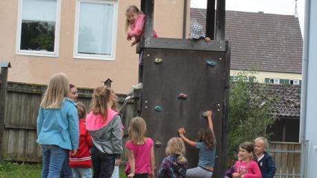"""Seit 25 Jahren gibt es den Kindergarten """"Kleine Strolche"""" in Zusamaltheim."""