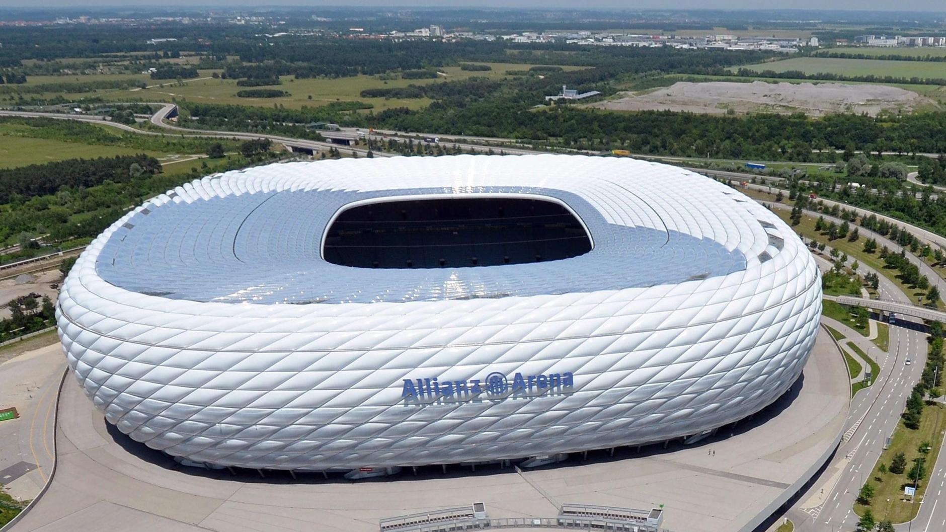 Allianz Arena Einlass