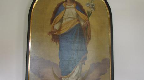 Das restaurierte Altarbild.