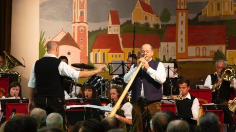 Die Blaskapelle Unterthürheim bot dem Publikum einen Abend der Superlative, wie sie schreiben.