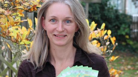 Martina Hahn freute sich über das Preisgeld von 1000 Euro.
