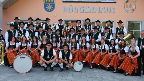 Der Musikverein Laugna-Bocksberg begeisterte bei seinem Jahreskonzert.