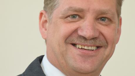 Johann Gebele ist seit 2014 Bürgermeister der Gemeinde Laugna und tritt 2020 wieder an.