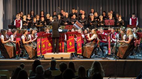 Der Musikverein Zusamaltheim und der Kirchenchor betonten bei ihrem Jahreskonzert die Unentbehrlichkeit der Musik.