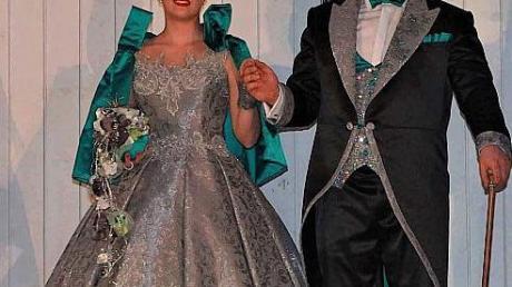 Zum zweiten Mal fungiert Celina Wolfinger als Prinzessin der Steinheimer Faschingsfreunde.