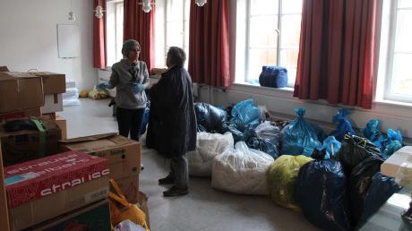 Maryam Ali hat die Sammelaktion organisiert.