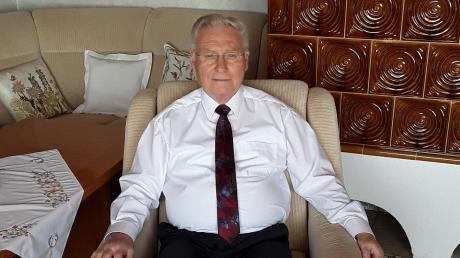 Wird am heutigen Dienstag 80 Jahre alt: Laugnas Altbürgermeister Günter Meitinger.