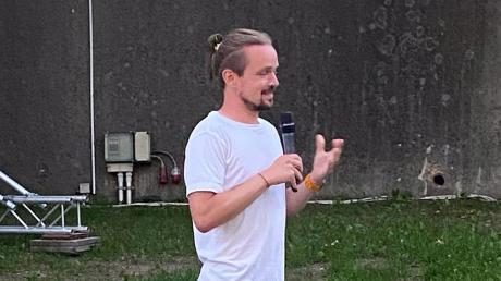 Regisseur Ulrich Stirnrat war am Samstag zu Gast in Wertingen.