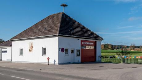 Das Feuerwehrhaus Bocksberg wurde saniert. Nun soll der Vorplatz neu gestaltet werden.