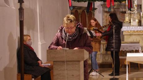 Der Pfarrgemeinderat veranstaltete in Zusamaltheim eine adventliche Besinnungsfeier.