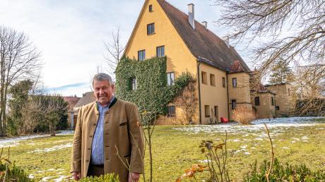 Kurz vor seinem 70. Geburtstag ging Hartmut Dauner als Betriebsleiter der Wälder der Fugger'schen Stiftungen in Ruhestand. Bald zieht er auch aus dem Laugnaer Schloss aus.