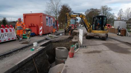 Voraussichtlich ab April wird die Ortsdurchfahrt in Buttenwiesen wieder gesperrt sein. Dann beginnt Bauabschnitt zwei bei der Sanierung der Staatsstraße.
