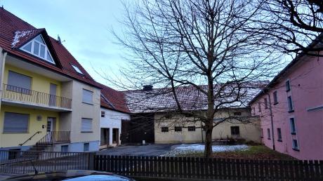 """Mit dem ehemaligen """"Jokschhof"""" verschwindet auch ein Stück Wertinger Stadtgeschichte."""