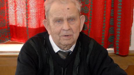 """An seinem """"Hundertsten"""" erfreute sich Ludwig Rieß noch bester Gesundheit. Jetzt sagte er mit 105 Jahren leise für immer Adieu."""