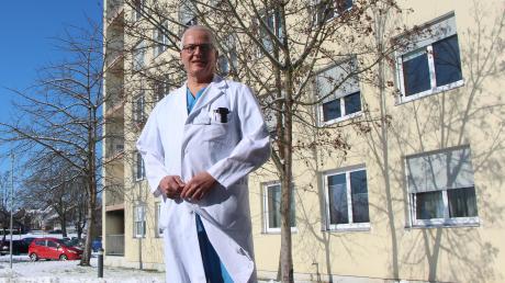 Thomas Moehrke hatte sich gemeinsam mit 14 weiteren Ärzten für den Bau des Towers ausgesprochen – jetzt sieht er große Probleme am Horizont.