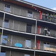 Auch fünfgeschossige Gebäude können inzwischen in Holzbauweise entstehen, und da geht noch mehr, wie Alexander Gumpp erklärte. Auf dem Foto ist das von Gumpp und Maier gebaute Projekt Rio in München-Riem zu sehen.