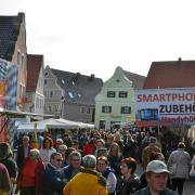 In Wertingen soll am 24. Oktober der Herbstmarkt abgehalten werden. Außerdem sind einige Geschäfte an diesem Sonntag geöffnet.