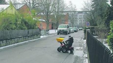 Sanierungsbedarf an Meitinger Straßen