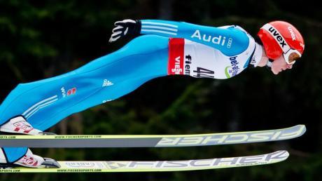 Richard Freitag kam nach Sprüngen auf 129 und 128,5 Meter auf den sechsten Platz.