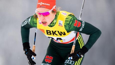 Langläuferin Hanna Kolb hat sich für die Olympischen Winterspiele qualifiziert. Foto: Jon Olav Nesvold