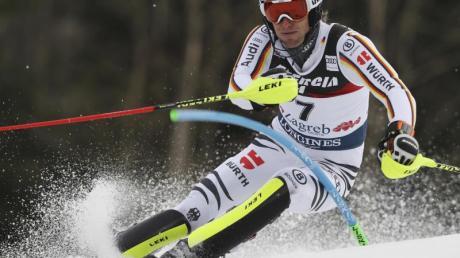 Fritz Dopfer schied beim zweiten Durchgang beim Slalom in Zagrb aus.