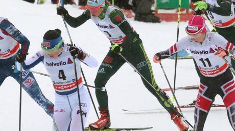Nicole Fessel ist die derzeit beste deutsche Langläuferin. Foto: Karl-Josef Hildenbrand