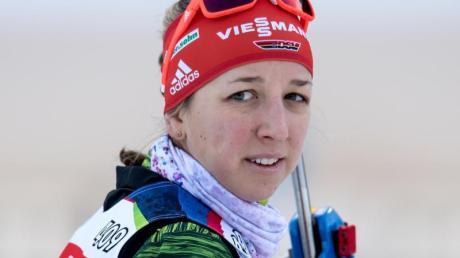 Kämpft um ihren Olympia-Starplatz: Biathletin Franziska Preuß.
