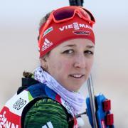 Kämpft um ihren Olympia-Starplatz: Biathletin Franziska Preuß. Foto: Sven Hoppe